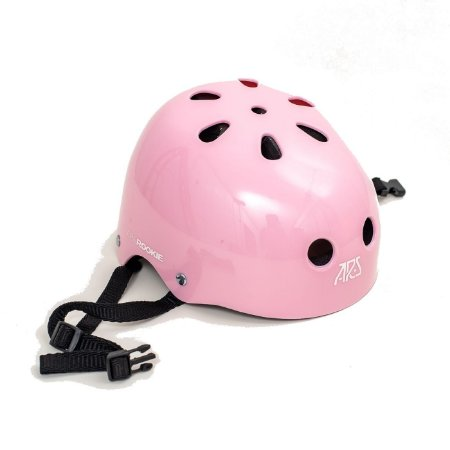 Capacete ARS protection Rookie - Rosa claro