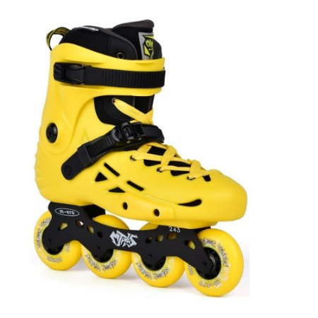 Patins Micro MT Plus Yellow - Amarelo  / 80mm 85a