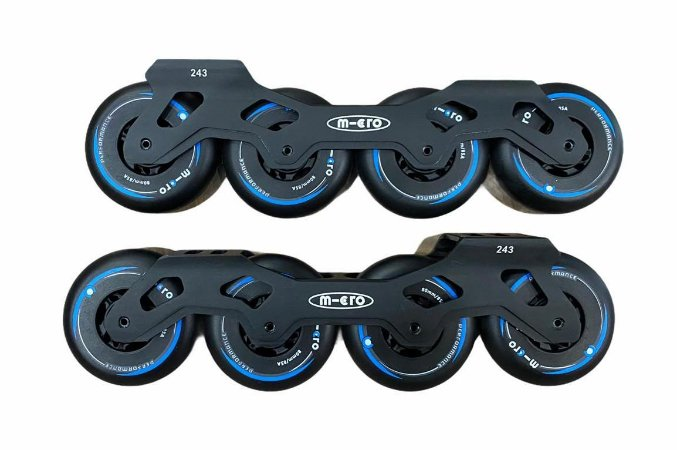 Base completa Micro skates / 80mm 85a