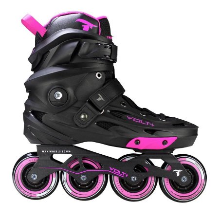 Patins Traxart Volt + 80mm abec9 (urban/freestyle) - ROSA