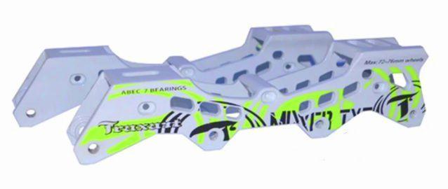 Par de base Traxart Mixxer Branca / 72-76mm