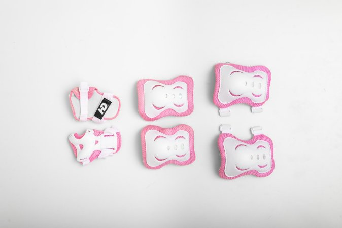 Kit de Proteção HD Inline Infantil - Rosa