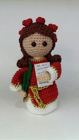 Santa Rita de Cássia 🌹⛪🙏 . #amigurumi... - Amigurumis da Ju ...   450x253