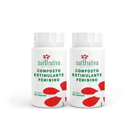 Composto Estimulante Feminino - Kit 02 Produtos