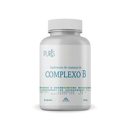 Complexo B 280 mg 60 cápsulas Puris - Auxilia na absorção de Nutrientes -