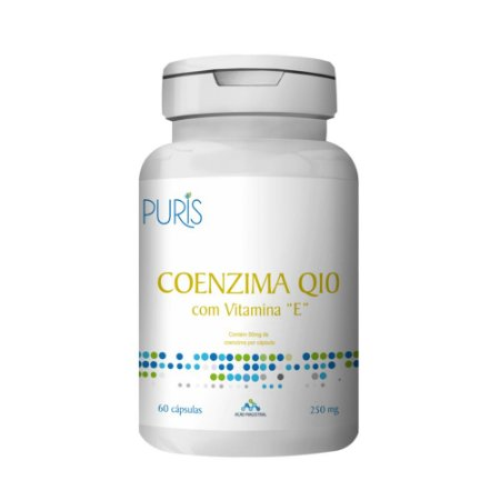 Coenzima Q 10 com Vitamina E - Estimulante do Sistema Imunológico