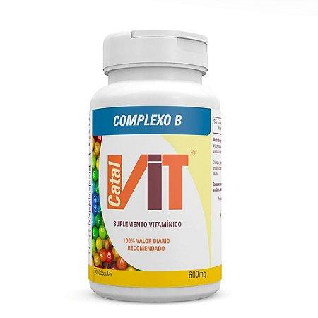 Complexo B 600 mg 90 Cápsulas Catalmedic