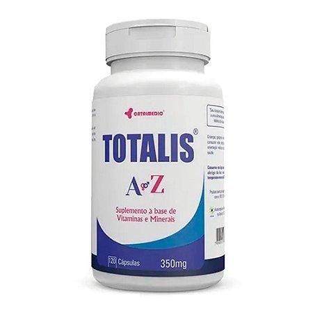 Totalis A Z 350mg com 120 cápsulas Catalmedic