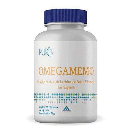 Omegamemo 1000 mg 60 cápsulas Puris