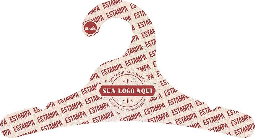 Cabide Personalizado com sua logo / Juvenil / Natural / CS102
