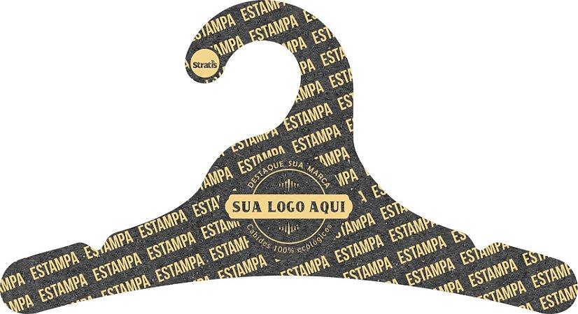 Cabide Personalizado com sua logo / Juvenil / Preto H / CS102