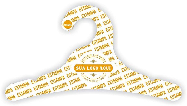 Cabide Personalizado com sua logo / Juvenil / Capa Branca / CS102