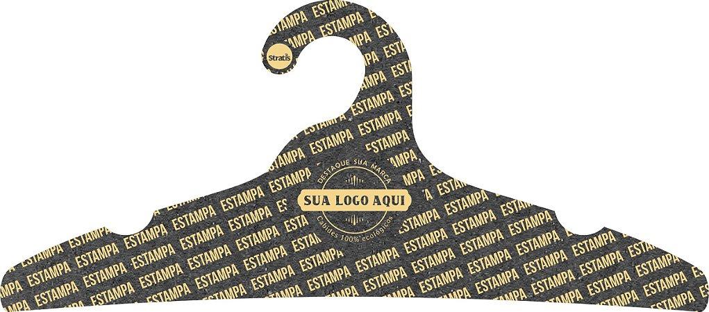 Cabide Personalizado com sua logo / Adulto / Preto H / CS104