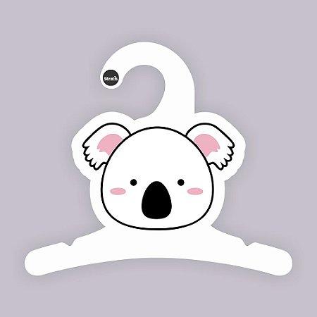 Cabide Bebê Coala / Capa Branca / CS119
