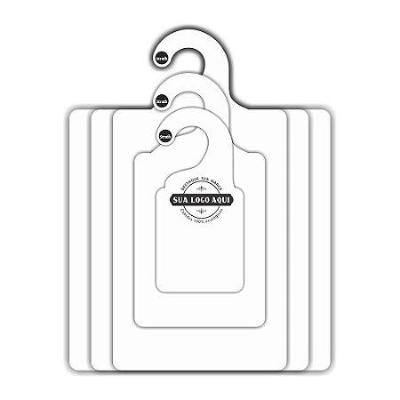 Kit Gabarito Personalizado com sua logo /  Capa Branca / CS506