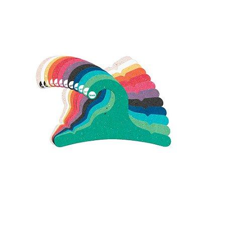 Cabide Infantil  - Color Face - Sortidos  CS100