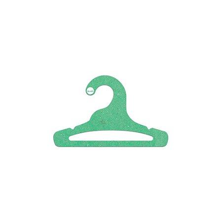 Cabide Infantil Aberto - Color Face  - Verde Claro - CS101