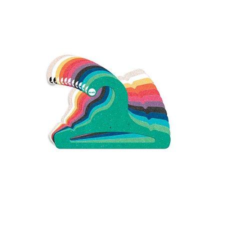 Cabide Infantil Aberto - Color Face - Sortido - CS101