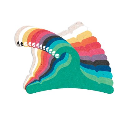 Cabide Juvenil - Color Face - Sortido - CS102