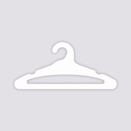 Cabide Adulto Aberto - Capa Branca - CS105