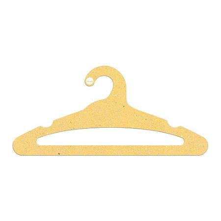 Cabide Adulto Aberto - Color Face - Amarelo - CS105