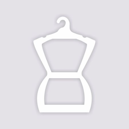 Cabide Silhueta Adulto - Capa Branca - CS109