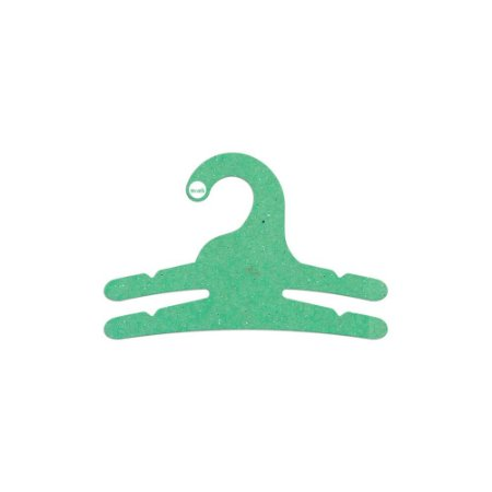 Cabide Infantil Multifuncional 2 Ganhos - Color Face - Verde Claro - CS113
