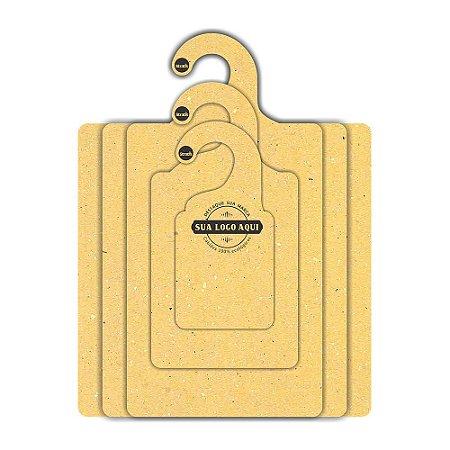 Kit Gabarito Personalizado com sua logo / Color Face / Amarelo -  CS506