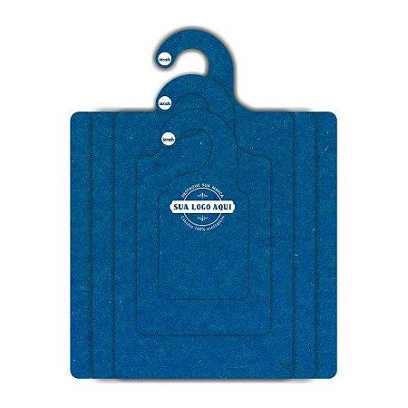 Kit Gabarito Personalizado com sua logo / Color Face / Azul Royal -  CS506