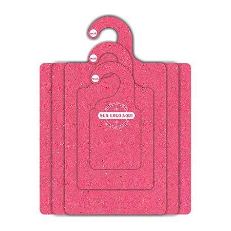 Kit Gabarito Personalizado com sua logo / Color Face / Rosa -  CS506