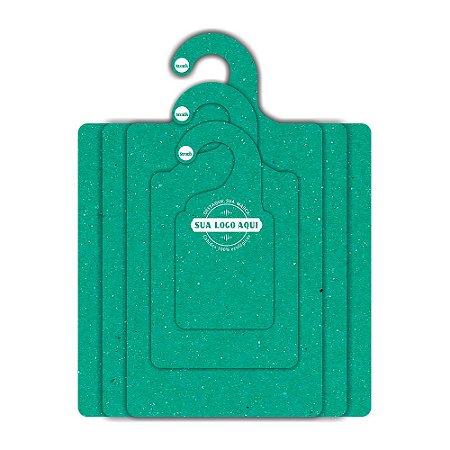 Kit Gabarito Personalizado com sua logo / Color Face / Verde -  CS506