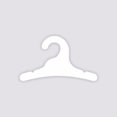 Atacado - Cabide Infantil - Capa Branca - CS100