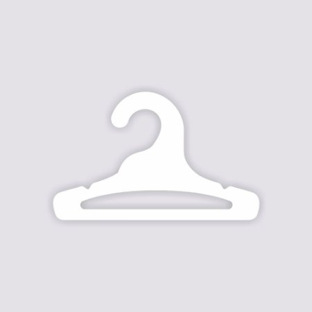 Atacado - Cabide Infantil Aberto - Capa Branca - CS101