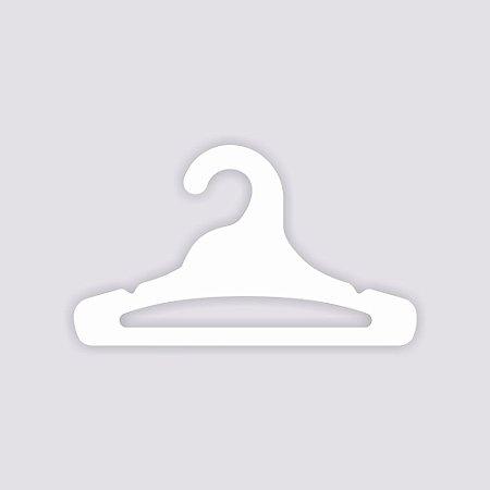 Atacado - Cabide Juvenil Aberto - Capa Branca - CS103