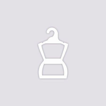 Atacado - Cabide Silhueta Bebê - Capa Branca - CS106