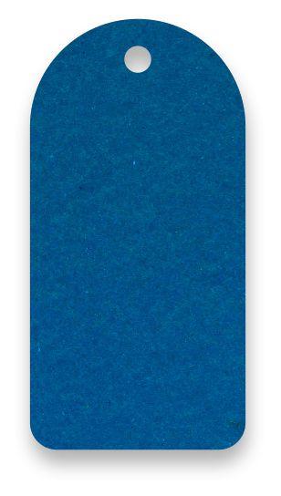 Tag - Etiqueta para Roupas - Color Face - Azul Royal - CS300