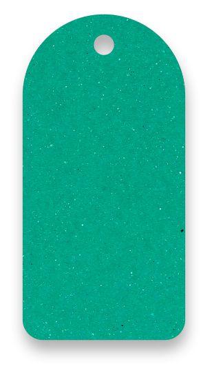Tag - Etiqueta para Roupas - Color Face - Verde -  CS300