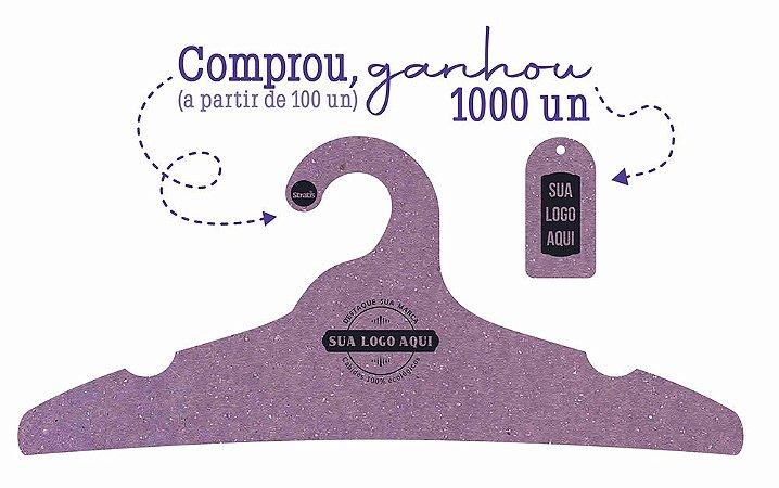 Promoção Comprou Ganhou: Cabide Personalizado com sua logo / Adulto / Color Face / CS104 -  Ganhe a Tag Color Face 1000 unidades personalizado