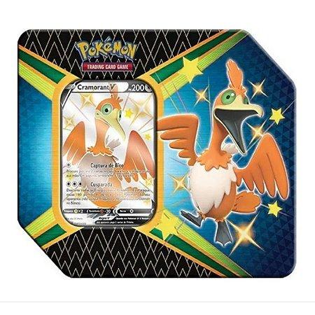 Lata Pokémon: Destino Brilhantes Copag Cramorant V