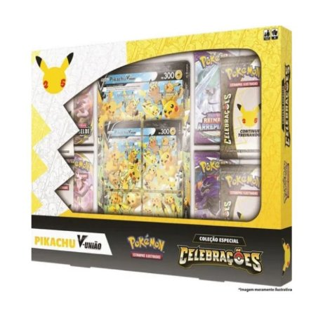 Pokemon Box - Celebrações Pikachu V-união