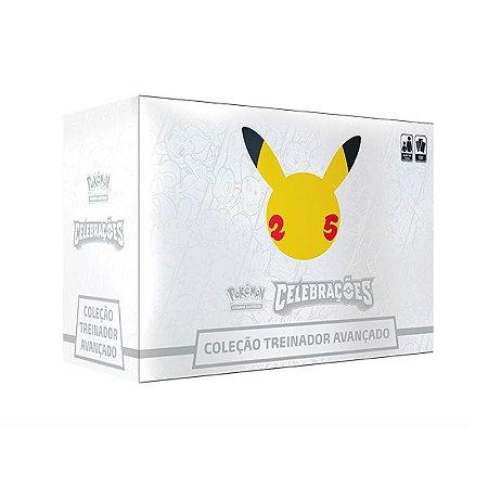 Box Pokémon Treinador Avançado - 25 Anos- Celebração