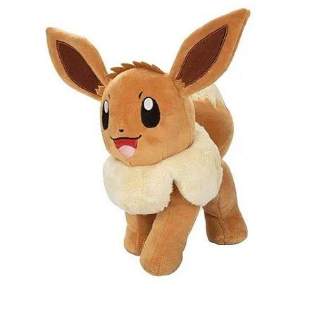 """Pokémon Eevee 8"""" - Pelúcia colecionável"""