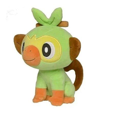 """Pokémon Grookey 8"""" - Pelúcia colecionável"""