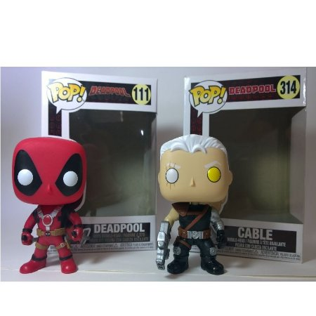 Távola Box - Combo Deadpool e Cable