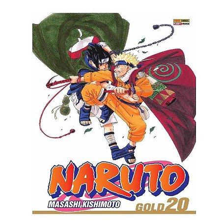 Mangá Naruto Gold - Volume 20
