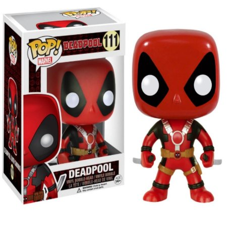 Pop Funko: Deadpool (Com duas Espadas)