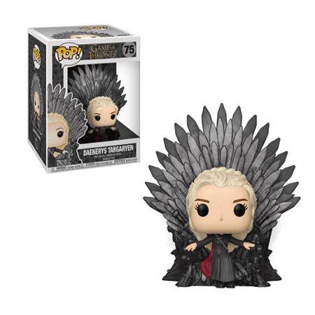 Pop Funko: Game of Thrones- Daenerys Targaryen no Trono de Ferro