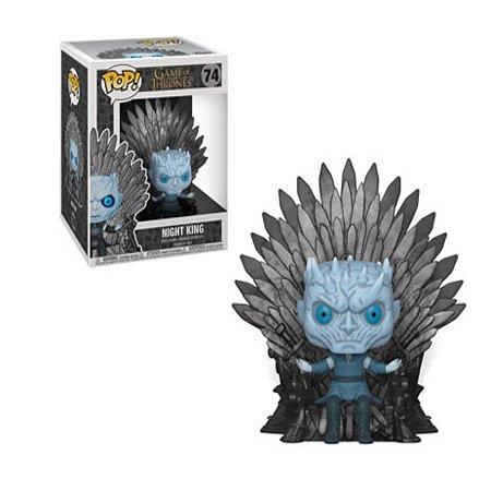 Pop Funko: Game of Thrones- Night King no Trono de Ferro