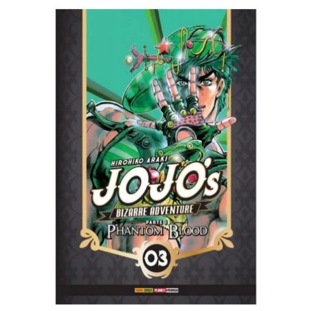 Jojos Bizarrice Adventure Phantom Blood Parte 1 vol 3
