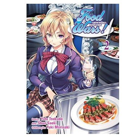 Mangá Food Wars - Volume 2
